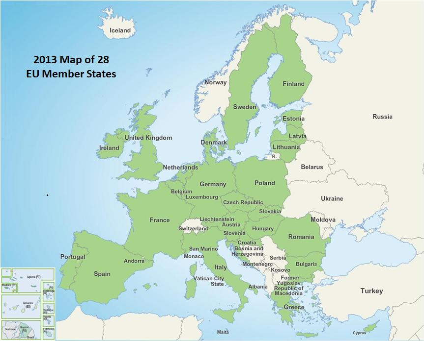 28 Member States 2013 Which Countries Require CE Marking of Medical Devices?