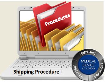 Shipping Procedure Shipping Procedure